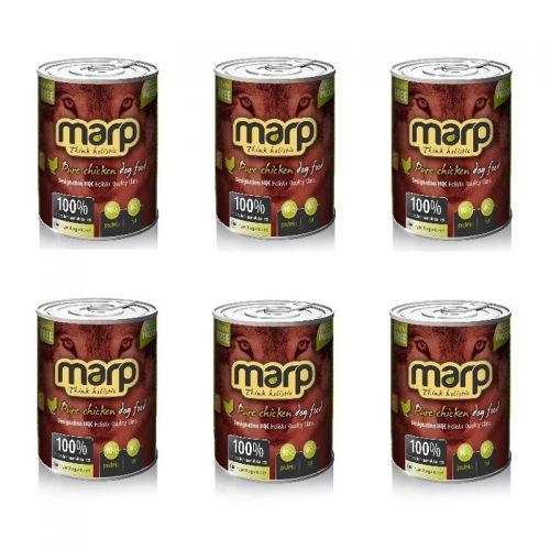 6 x 400g Dosen Huhn Marp Pfotenoase