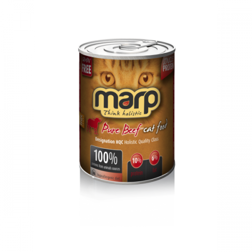 Marp-Katzen-Nassfutter-Rind-Getreidefrei-400g