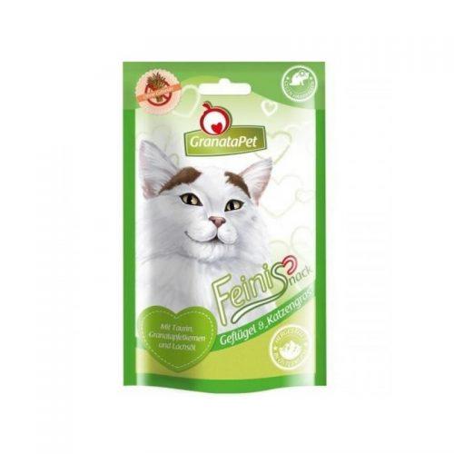 Pfotenoase Katzenleckerli Geflügel getreidefrei
