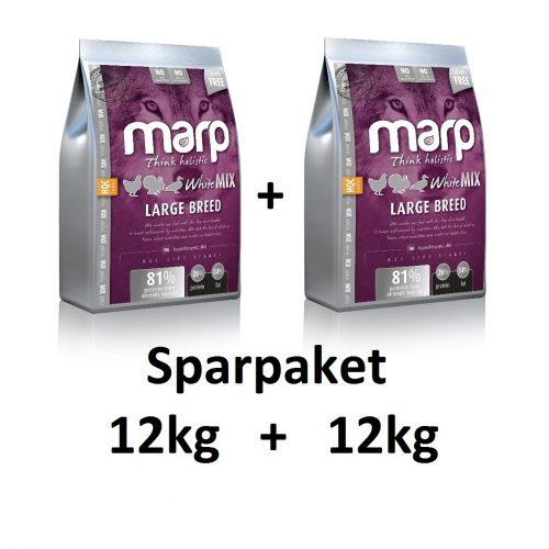 sparpaket-12kg-whitemix-large-breed-marp-getreidefreies-hundefutter-pfotenoase