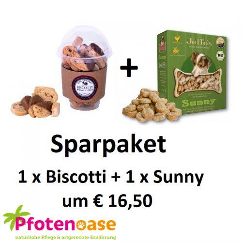 Sparpaket Biscotti & Sunny Pfotenoase